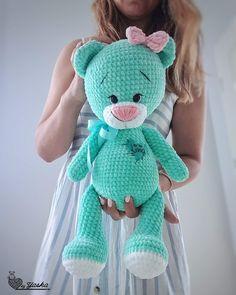 Painel de comentários Crochet Bear Patterns, Crochet Animal Amigurumi, Crochet Teddy, Crochet Bunny, Cute Crochet, Crochet For Kids, Crochet Animals, Amigurumi Patterns, Crochet Dolls