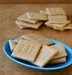 MIH Recipe Blog: Gluten Free Graham Crackers