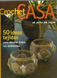 Varias ideas para casa a ganchillo. Un'intera rivista per la casa in spagnolo!