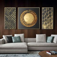 Rooms Home Decor, Home Decor Wall Art, Living Room Decor, Diy Home Decor, Hanging Paintings, Interior Decorating, Interior Design, Modern Pictures, Furniture