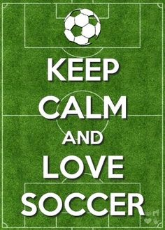 Keep Calm #lovesoccer #soccergifts #sports