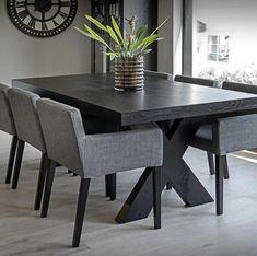 wien spisestol velour homefactory Dining Table, Furniture, Design, Home Decor, Athens, Decoration Home, Room Decor, Dinner Table
