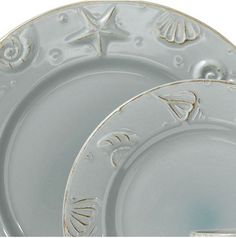 beach dinnerware | Beautifully Coastal Dinnerware | Beach Dishes | Seaside Cottage