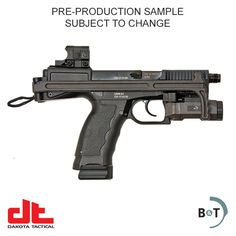B&T USW Semi-automatic 9mm Pistol with Aimpoint NANO