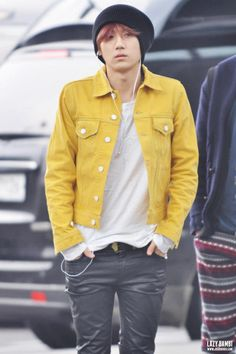Hyunseung. Love the style!
