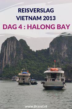 Op dag 4 van mijn rondreis door Vietnam maakte ik een mooie boottocht in de wateren van Halong Bay. Alles over de vierde dag van mijn reis door Vietnam lees je hier. Lees je mee? #vietnam #halongbay #boottocht #reisverslag #jtravel #jtravelblog