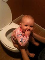 I did this with my oldest and have already started with my 5 month old. Potty Train Your Baby! :) you can do it! *heather was potty trained at around 1yr using this method. start super early it works.