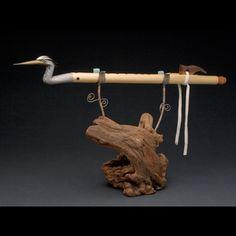 Quetzalcoatl Flutes and Drums by Guillermo Martinez #accshow #handmade #musicalinstrument #finecraft