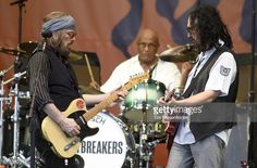 NEW ORLEANS, LA - APRIL 30: Mike Campbell and Tom Petty of Tom Petty and the Heartbreakers perform onstage during day 3 of the 2017 New Orleans Jazz & Heritage Festival at Fair Grounds Race Course on April 30, 2017 in New Orleans, Louisiana