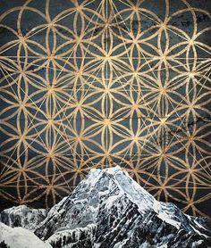 Sofia Minson - Sofia Minson is a portrait and landscape oil painter of Ngati Porou (Maori), Swedish, English and Irish heritage. Creation Myth, Days Of Creation, Cross Tattoo For Men, Polygon Art, Nz Art, Nordic Tattoo, Maori Art, Indigenous Art, Flower Of Life