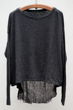 For that slightly chilly but comfy spring or fall day!  shabby casual!