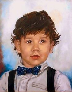 Custom Portrait Personalized Oil canvas Painting Art by ArtShopEva