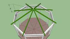 Image result for circular metal garden gazebos
