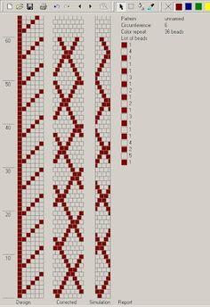 Бисерные жгуты и схемы - Olga Arngold - Picasa Web Albums