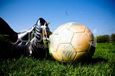 soccer player - royalty-free photo starting at $2.57