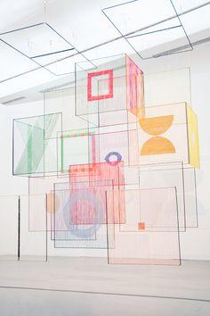 """Exhibition """"Decorum"""" at Musée d'Art Moderne, Paris Photography: Dmitry Bukreev Elsi Giaque"""