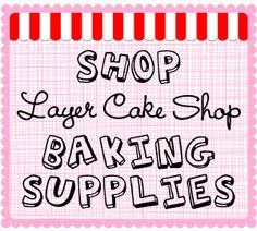 Bakers | The Daily Mixer just found this cute lil shop with darling baking/packaging supplies and crafty ways to use them :)