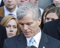 Former Virginia Governor Bob McDonnell was sentenced to serve two years in prison today, after being found guilty on 11 charges of corruption in September 2014. He must surrender before 2 p.m. on February 9 to start serving his sentence.