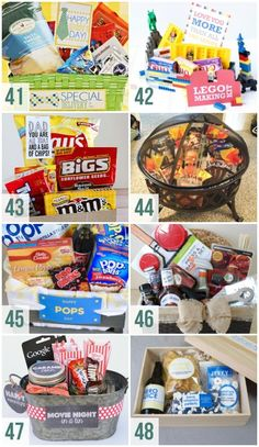 Themed Gift Basket Ideas for Father's Day