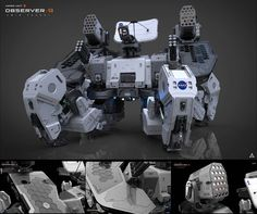 Observer 9 - Mars Unit by Amin Akhshi