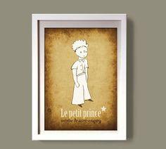 LE PETIT PRINCE art poster digital file nursery decor by COLOR4FUN