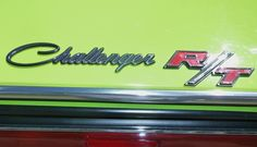 1970 Dodge Challenger RT badge.  Photography by David E. Nelson, 2017