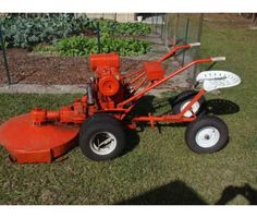 #Gravely Mower Vintage Model L