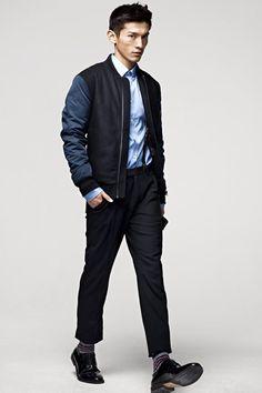 Daisuke Ueda (NY Models) for HM F/W 2012. Lovin' this jacket.