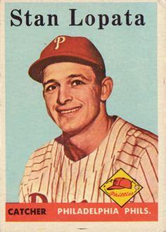 353 - Stan Lopata - Philadelphia Phillies