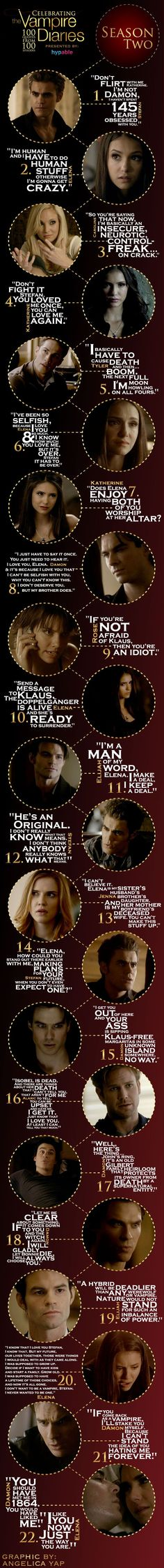 Famous TVD Quotes from Season 2