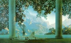 Maxfield Parrish by theresa