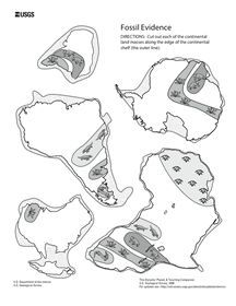Printables Pangaea Worksheet pangea continent cut outs printable puzzles geo juniors pinterest poster math and we have