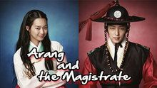 Arang and the Magistrate. Actually a good historical drama except it could have been a couple of episodes shorter.