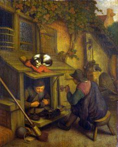 Adriaen van Ostade - shoemaker
