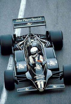 Elio de Angelis, JPS Lotus-Ford 91, 1982 Monaco Grand Prix