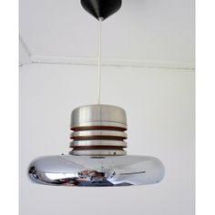 space age jaren 70 hanglamp