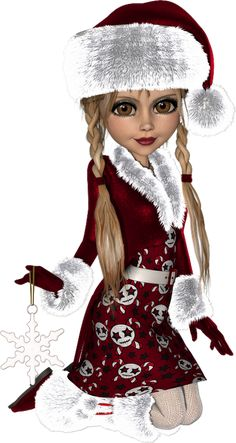 no l nouvel an cookies poser dolls - Page 6 Luxury Christmas Tree, Christmas Fairy, Halloween Christmas, Christmas Graphics, Christmas Images, Christmas Cards, Flip Flop Art, Clipart Noel, Belle Nana