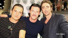 Orlando Bloom, Luke Evans, Lee Pace The Hobbits Movies