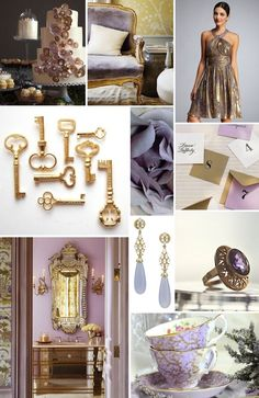 – Color Inspiration: Lavender and Gold – » Alexan Events | Denver Wedding Planners, Colorado Wedding and Event Planning @ Wedding-Day-BlissWedding-Day-Bliss