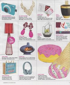 Dwell's Aria floor lamp features in the Sunday Express magazine as Editor's Choice