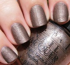 """OPI's """"You Don't Know Jacques!"""" (Suede Version)"""