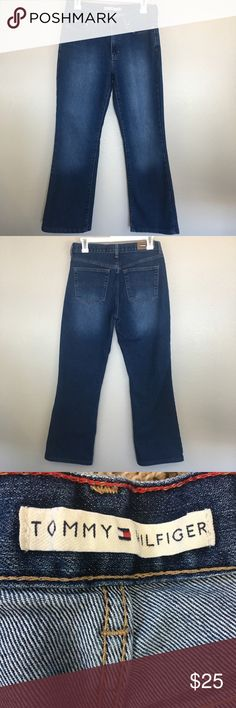 f076e3ea Shop Women's Tommy Hilfiger Blue Gray size 4 Ankle & Cropped at a  discounted price at Poshmark. Description: Tommy Hilfiger Cropped Bootcut  Jeans Size 4 ...