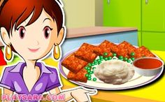 Learn more about a fascinating collection of Sara\'s Cooking Class games: more than 100 games for girls available online. Biryani, Pavlova, Bento, Sara's Cooking Class, Class Games, Meat Loaf, Games For Girls, Trifle, Online Games