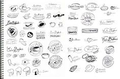 22 Best Graphic Design Thumbnail Sketches images