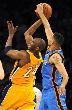 FULL GAME in HD! Los Angeles Lakers vs. Oklahoma City Thunder on www.nbadunks.org