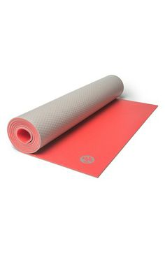 Love this super lite two toned yoga mat. Take with you or use at home. @Nordstrom