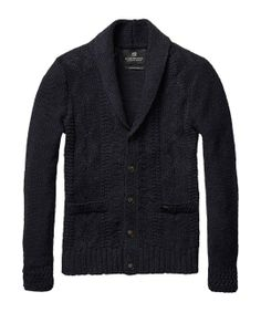 Lurex Party Cardigan > Mens Clothing > Pullovers at Scotch & Soda