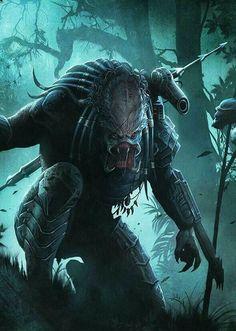 Explore the alien and predator collection - the favourite images chosen by liverpaudlianlady on DeviantArt. Alien Vs Predator, Predator Movie, Predator Alien, Predator Series, Les Aliens, Arte Dc Comics, Science Fiction, Alien Races, Alien Art