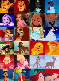 Disney characters as kids
