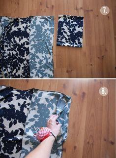 Kimono Diy, Kimono Tutorial, Motif Kimono, Kimono Pattern, Diy Tutorial, Sewing Hacks, Sewing Tutorials, Sewing Projects, Sewing Patterns